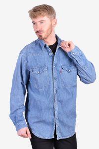 Vintage men's Levi's denim shirt