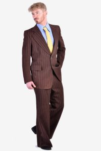 Vintage 1970's flared suit