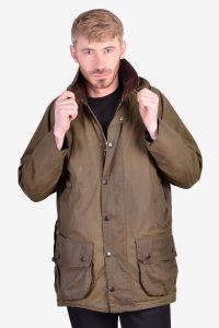 Vintage Barbour Beaufort wax jacket