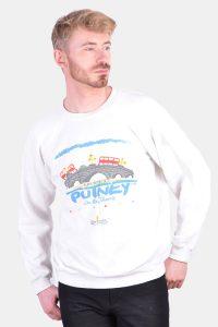 Vintage retro sweatshirt