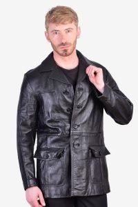 Vintage Hepworths leather jacket