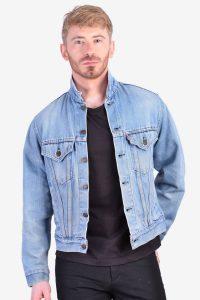 Vintage Levi's light blue denim jacket