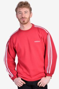 Vintage Adidas red sweatshirt