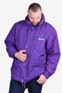 Fila Magic Line purple coat