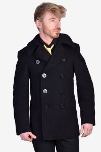 Vintage Naval Factory Clothing pea coat