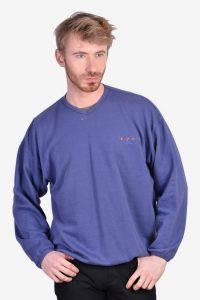 Vintage Adidas navy blue sweatshirt