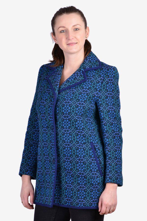 Vintage Welsh Woollens coat