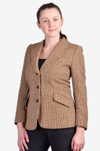 Vintage women's tweed jacket