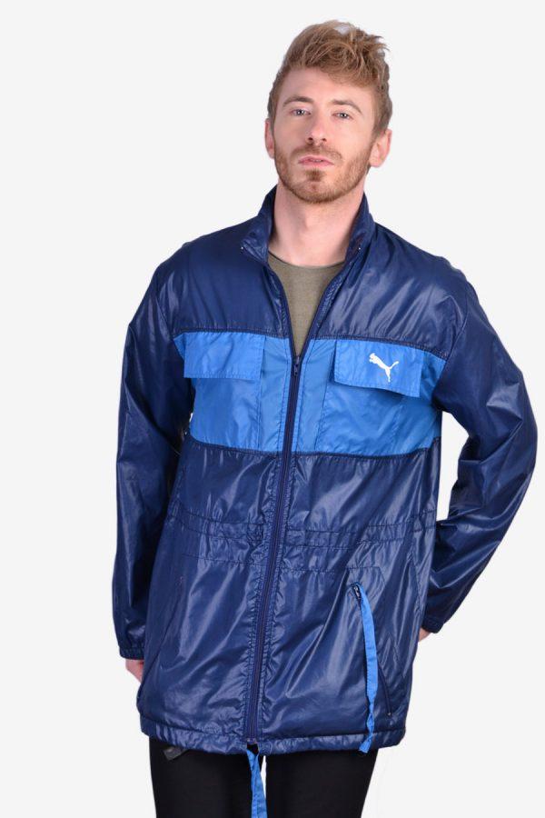 Vintage 1970's Puma windbreaker jacket