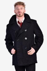 Vintage US navy pea coat