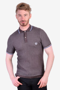 Vintage Fred Perry waffle polo shirt