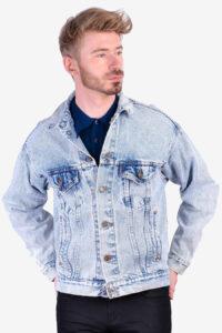 Vintage Levi's acid wash denim jacket
