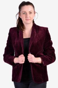1970's women's velvet jacket