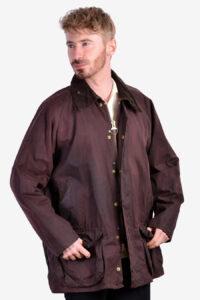 Vintage Barbour Beaufort A190 wax jacket