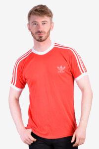 Vintage 1970's Adidas ringer t shirt