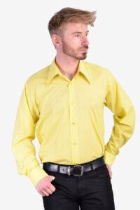 Vintage 1970's yellow shirt