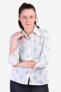 Vintage 1970's floral shirt