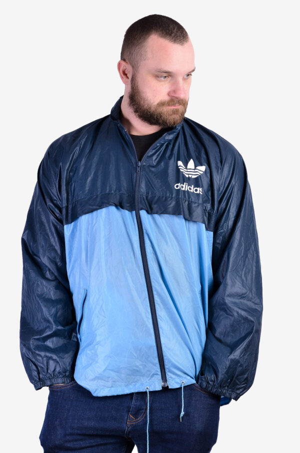 Vintage Adidas pac a mac jacket