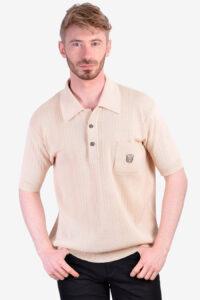 Vintage C&A Banlon polo shirt