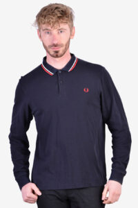Fred Perry vintage long sleeved polo shirt