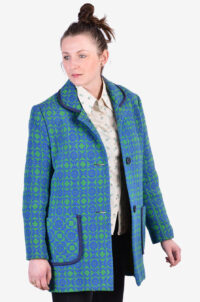 Welsh Woollens vintage coat