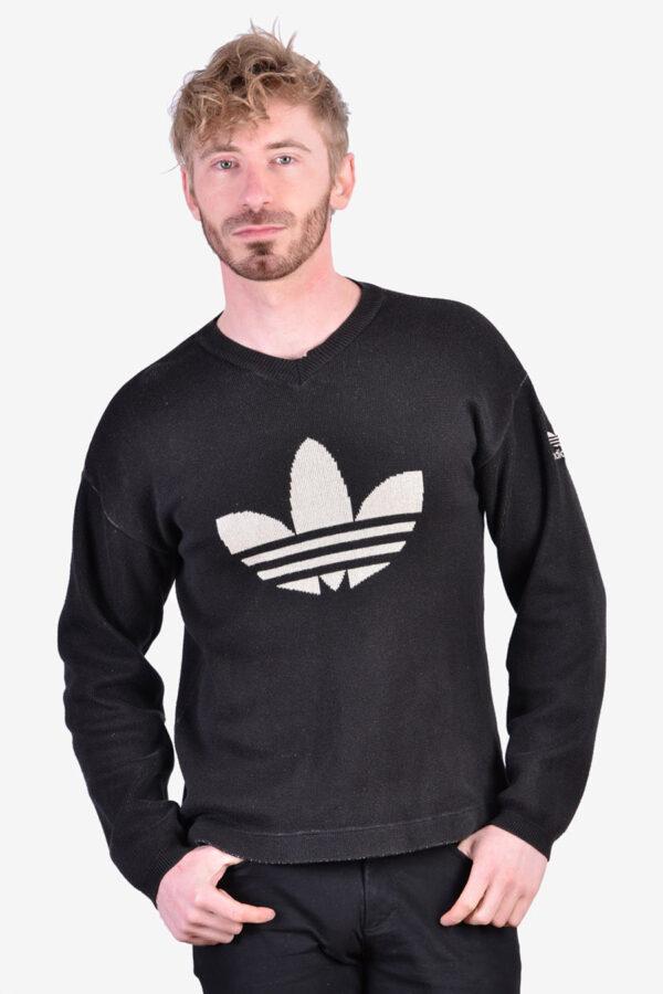 Vintage Adidas trefoil jumper