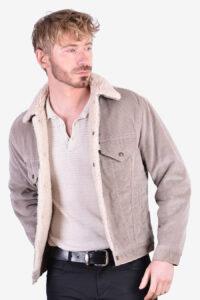 Vintage Levi's sherpa corduroy jacket