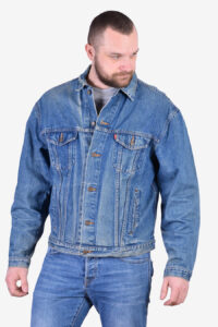Vintage Levi 70507 denim jacket