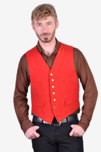 Vintage 1960's wool waistcoat