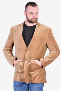 Vintage men's velvet jacket