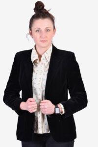 Women's St Michael velvet jacket