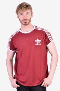 Vintage Adidas maroon t shirt