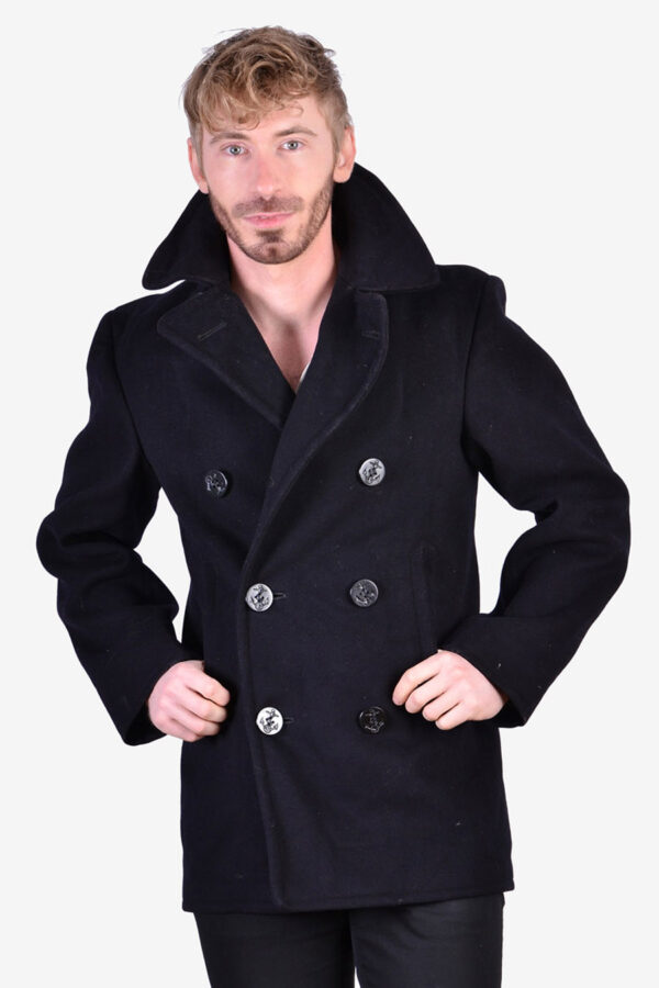 Vintage 1960's US Navy pea coat
