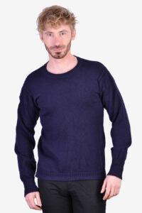 Vintage navy blue jumper