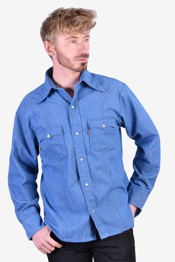 Levi's orange tab shirt