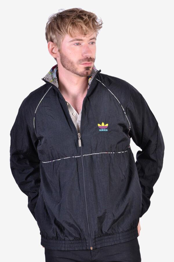 Adidas vintage shell suit jacket