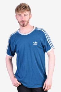 Vintage Adidas blue t shirt