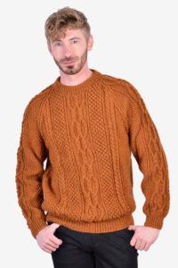 Vintage Aran cable knit jumper