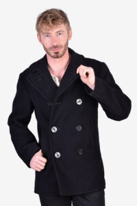 Vintage 1950's Clothing Supply Office pea coat