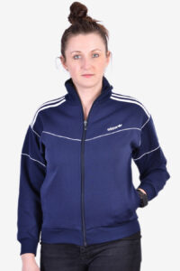 Vintage women's Adidas track top