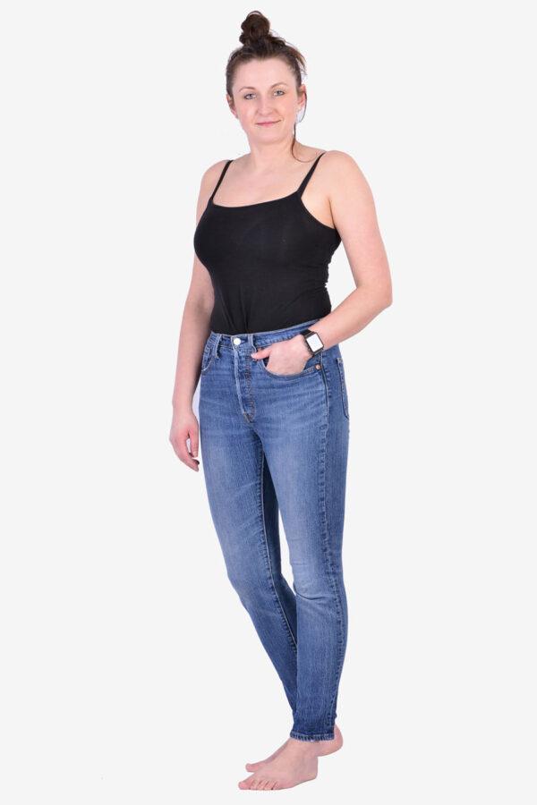 Women's vintage Levi's 501 jeans