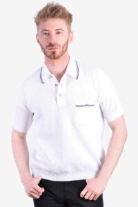 Men's Banlon polo shirt