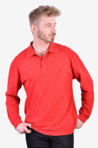 Vintage Fred Perry long sleeved polo shirt