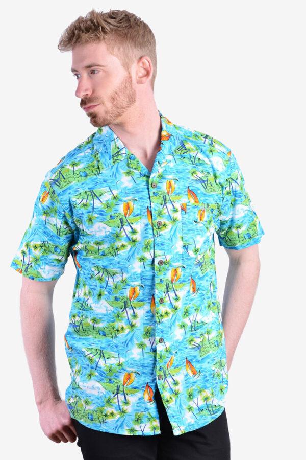 Retro vintage Hawaiian shirt