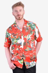 Vintage retro Hawaiian shirt