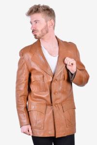 1970's men's leather jacket