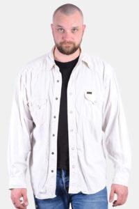 Vintage men's Wrangler denim shirt