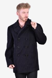 Vintage Naval Factory Depot pea coat