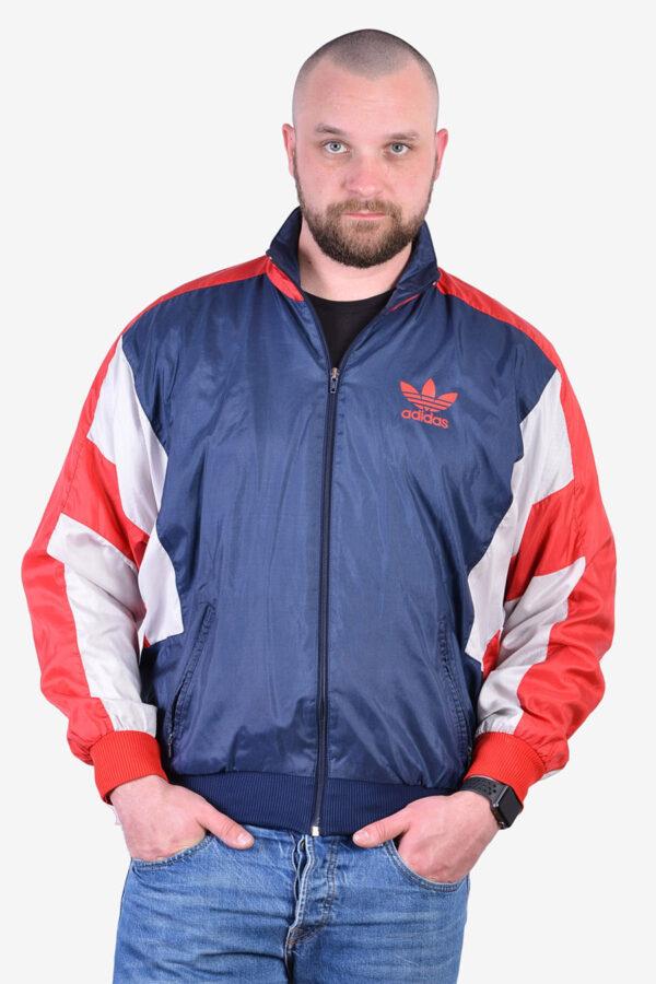 Vintage Adidas windbreaker bomber jacket