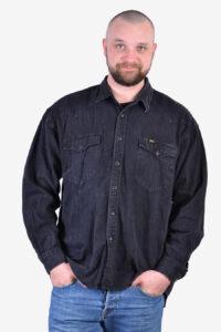 Vintage Lee Riders denim western shirt